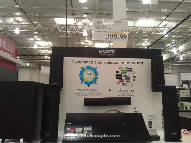 Sony 3D Blu Ray Home Theater Costco 1