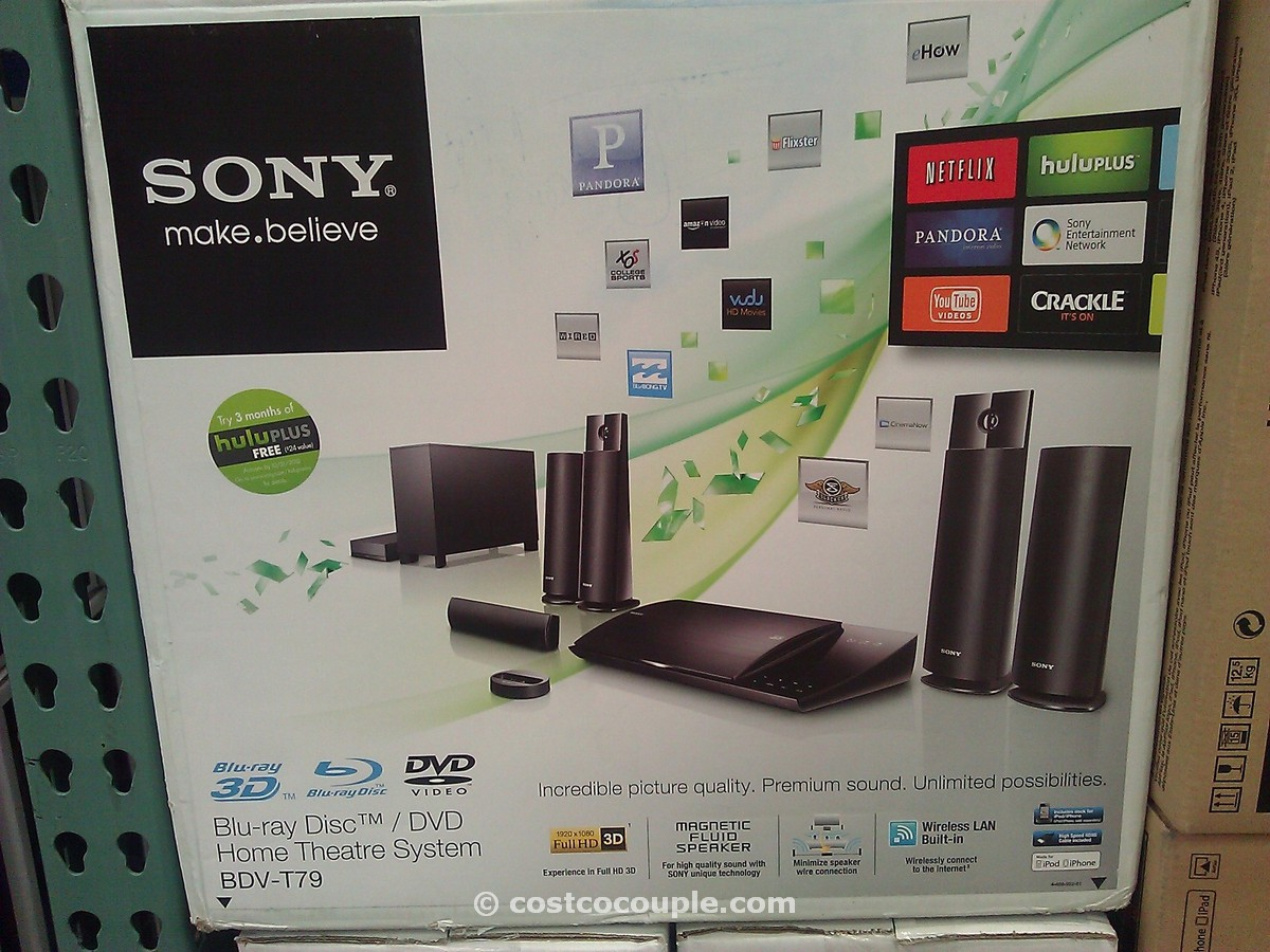 Sony 3D Blu Ray Home Theater Costco