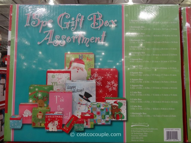 15 Piece Gift Box Assortment Costco 2