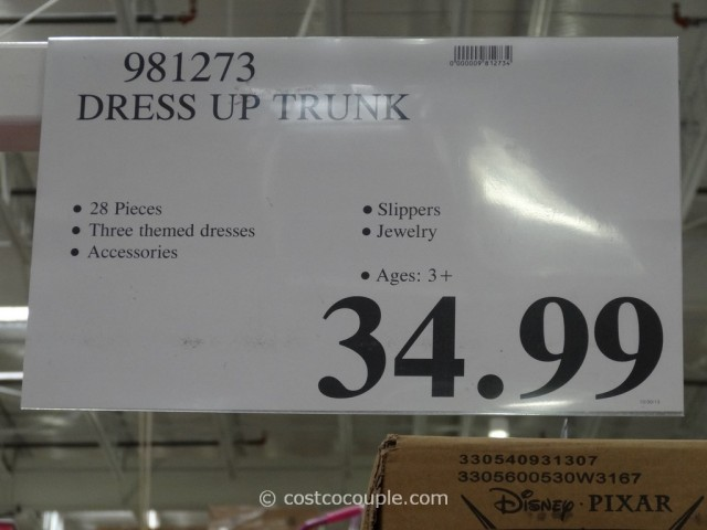 28 Piece Dress Up Trunk Costco 2