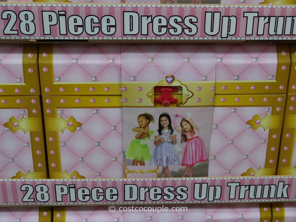 Girls Dress Up Clothes Trunk