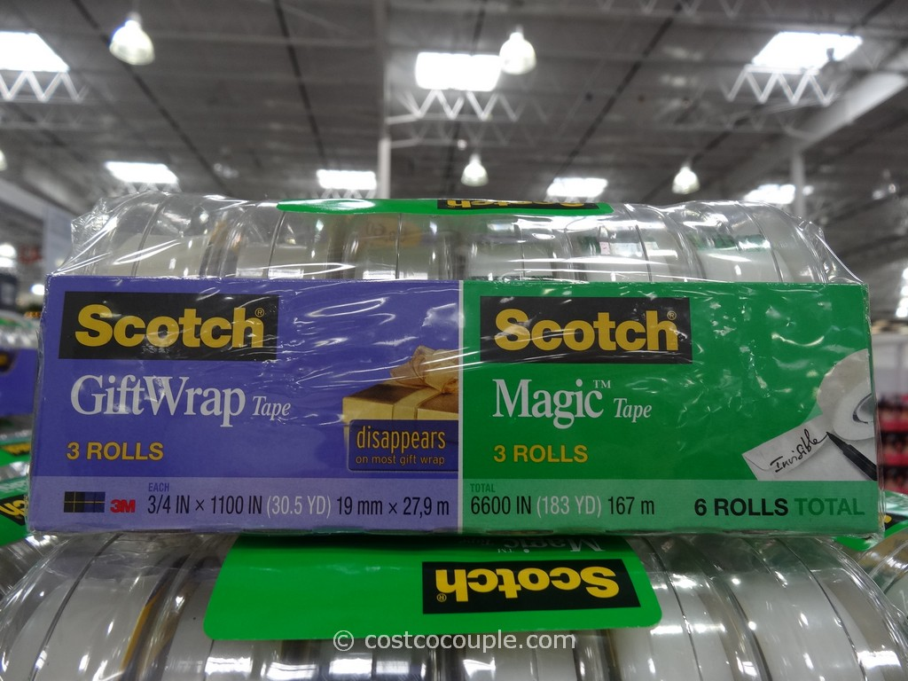 3M Scotch Magic Gift Wrap Tape Set Costco 2