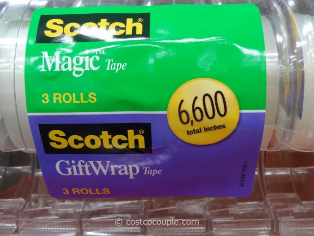 3M Scotch Magic Gift Wrap Tape Set Costco 3