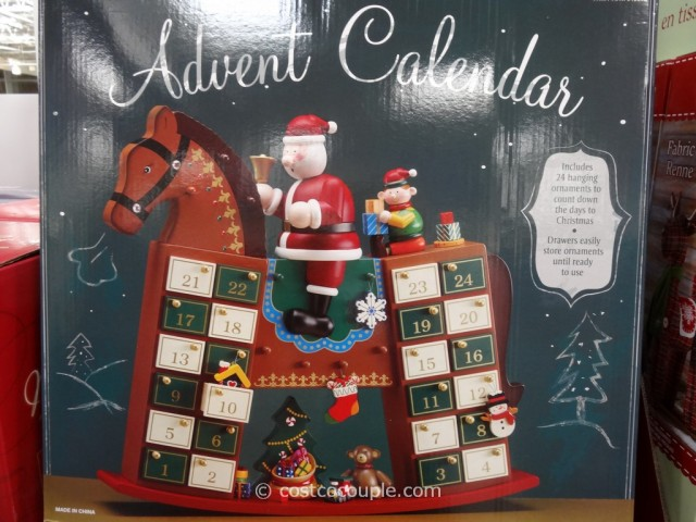 Advent Calendar Wooden Rocking Horse Costco 2
