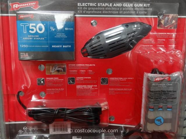 Arrow Electric Stapler and Glue Gun Kit Costco 2