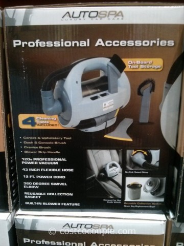 AutoSpa Corded Car Vacuum Costco 2