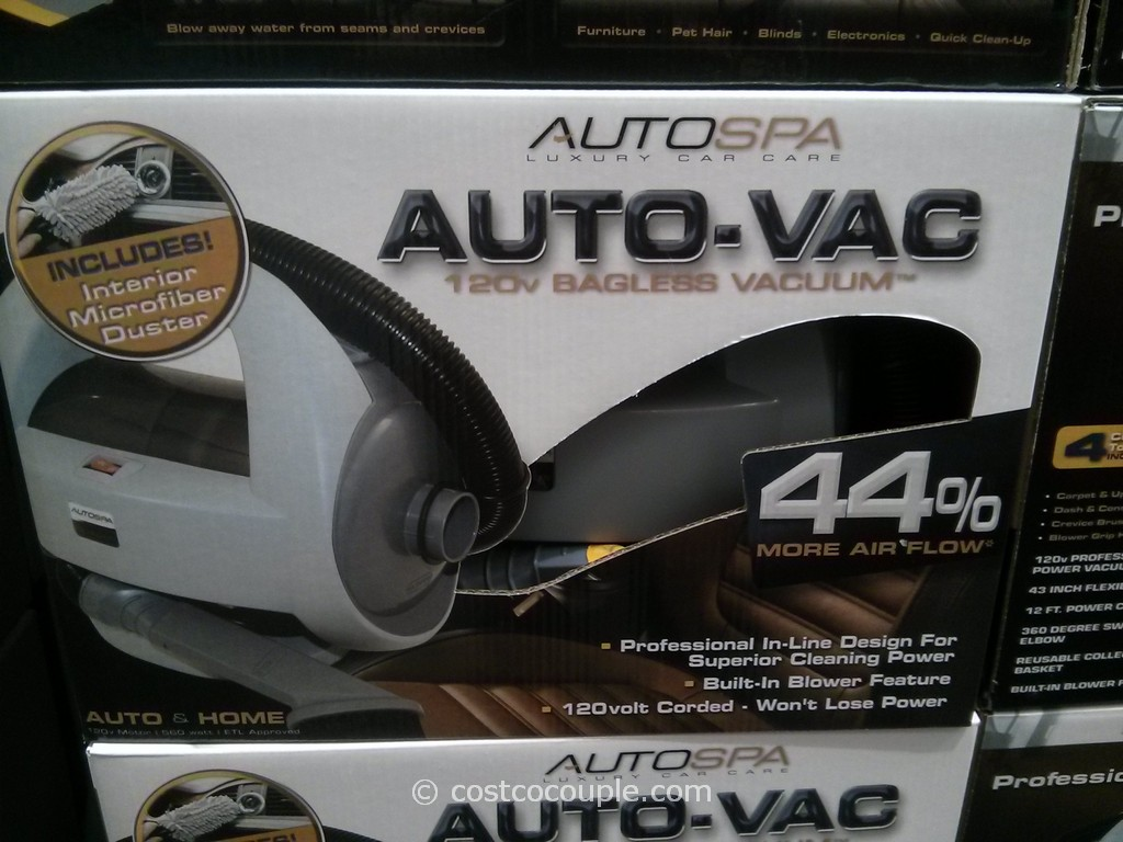 AutoSpa Corded Car Vacuum Costco 3