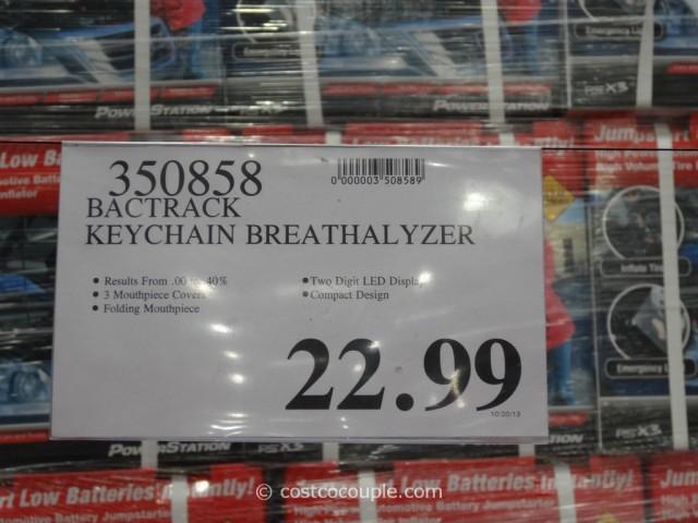 BacTrack Keychain Breathalyzer Costco 1