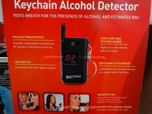BacTrack Keychain Breathalyzer Costco 2