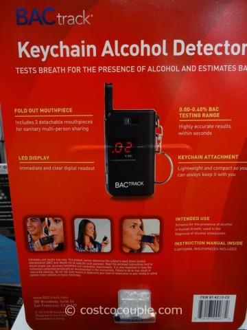 BacTrack Keychain Breathalyzer Costco 3