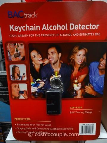 BacTrack Keychain Breathalyzer Costco 4