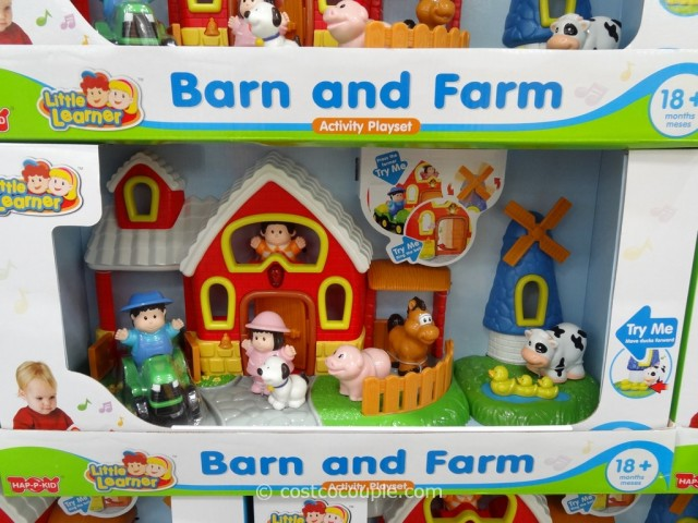 Little Learner Barn and Farm Playset Costco 1