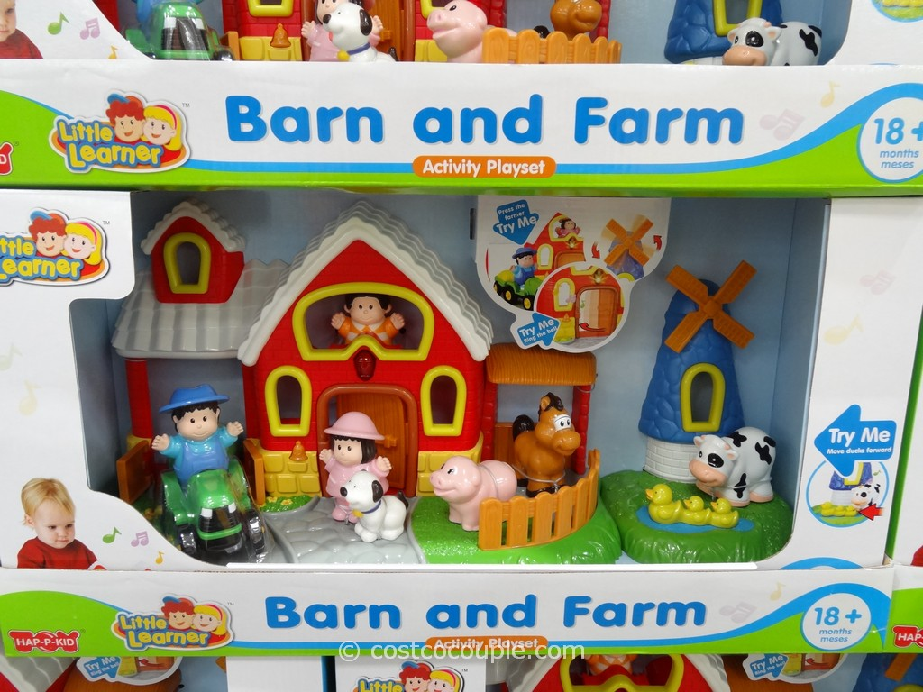 Barn and Farm Playset Costco 1