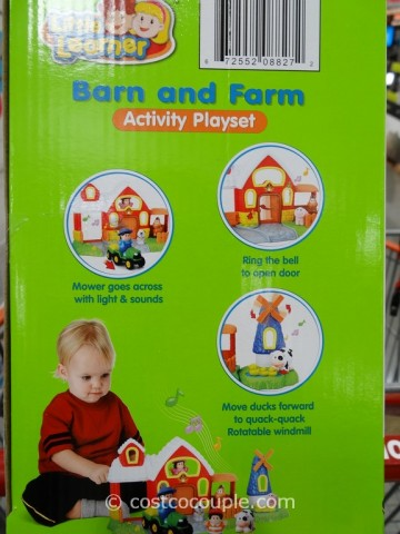 Little Learner Barn and Farm Playset Costco 2