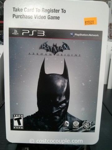 Batman Arkham Origins Costco 3