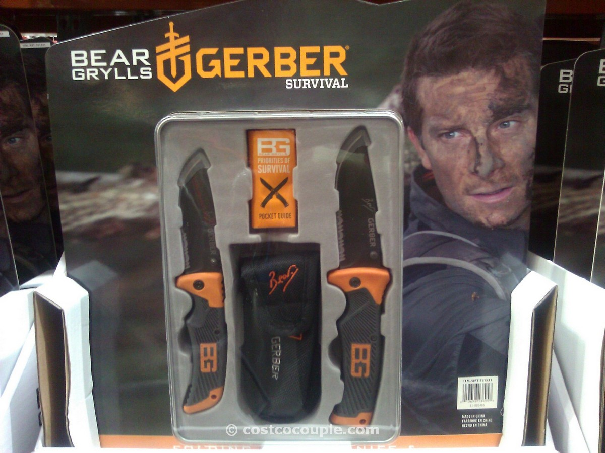Bear Grylls 2 Piece Knife Set Costco 5