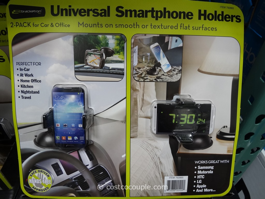 Bracketon Universal Smartphone Holders Costco 2
