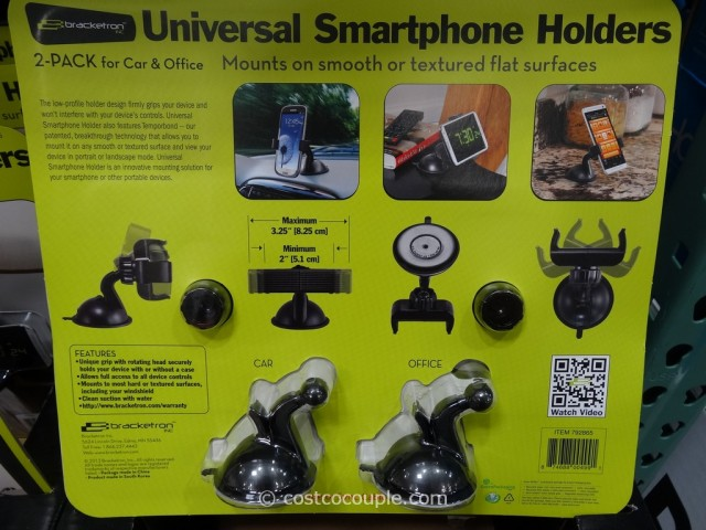 Bracketon Universal Smartphone Holders Costco 3