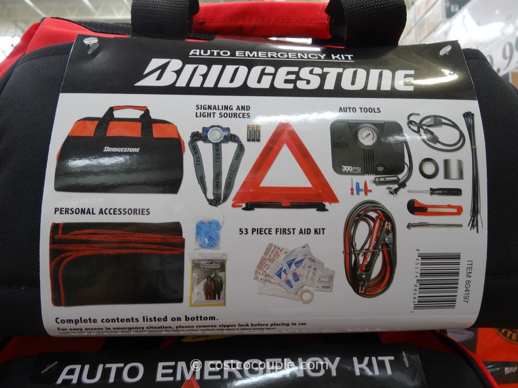 Bridgestone Auto Emergency Kit Costco 3