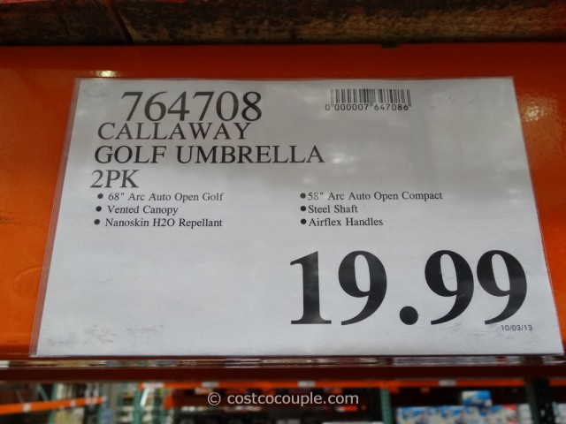 Callaway Golf Umbrella Set Costco 3