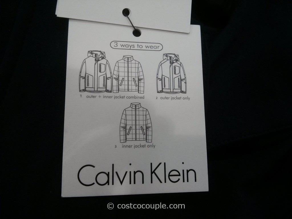 Calvin Klein Men's 3 in 1 Jacket