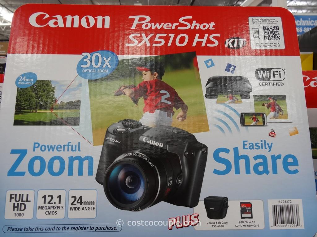Canon Powershot SX510 HS Costco 1