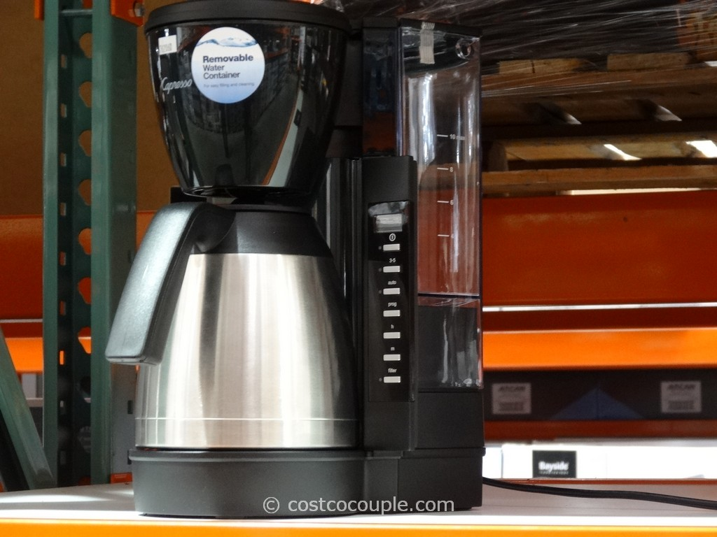 Capresso CM300 Programmable Coffee Maker Costco 2