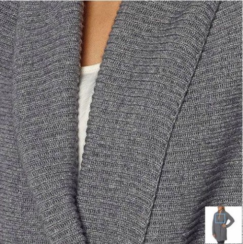 Celeste Ladies' Open Shawl Cashmere Wool Cardigan Costco 2