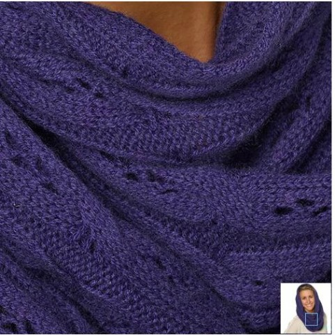 Celeste Ladies' Wool and Cashmere Infinity Scarf Costco 2
