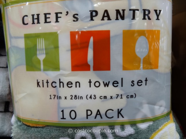 Chefs Pantry Kitchen Towels Costco 2