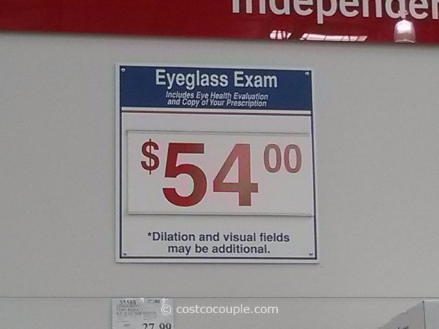 Costco Eye Exam 1