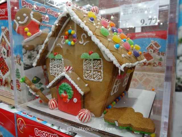 Create A Treat Gingerbread House Costco 2