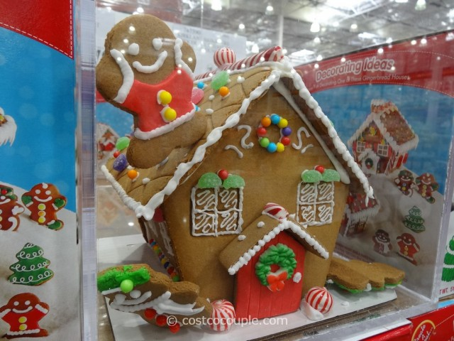 Create A Treat Gingerbread House Costco 3