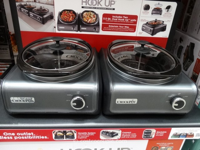 Crock-Pot Hook Up Set Costco 5