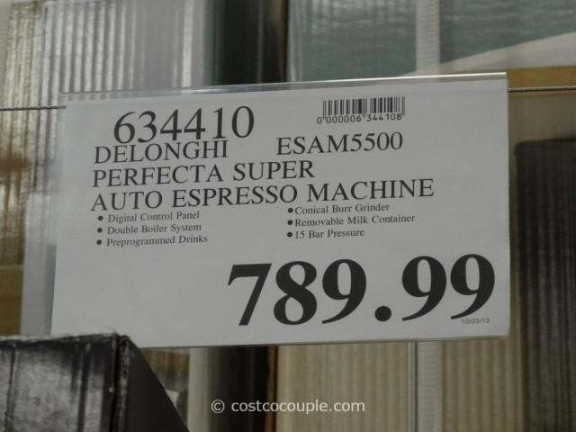 Delonghi Perfecta Cappuccino Costco 5
