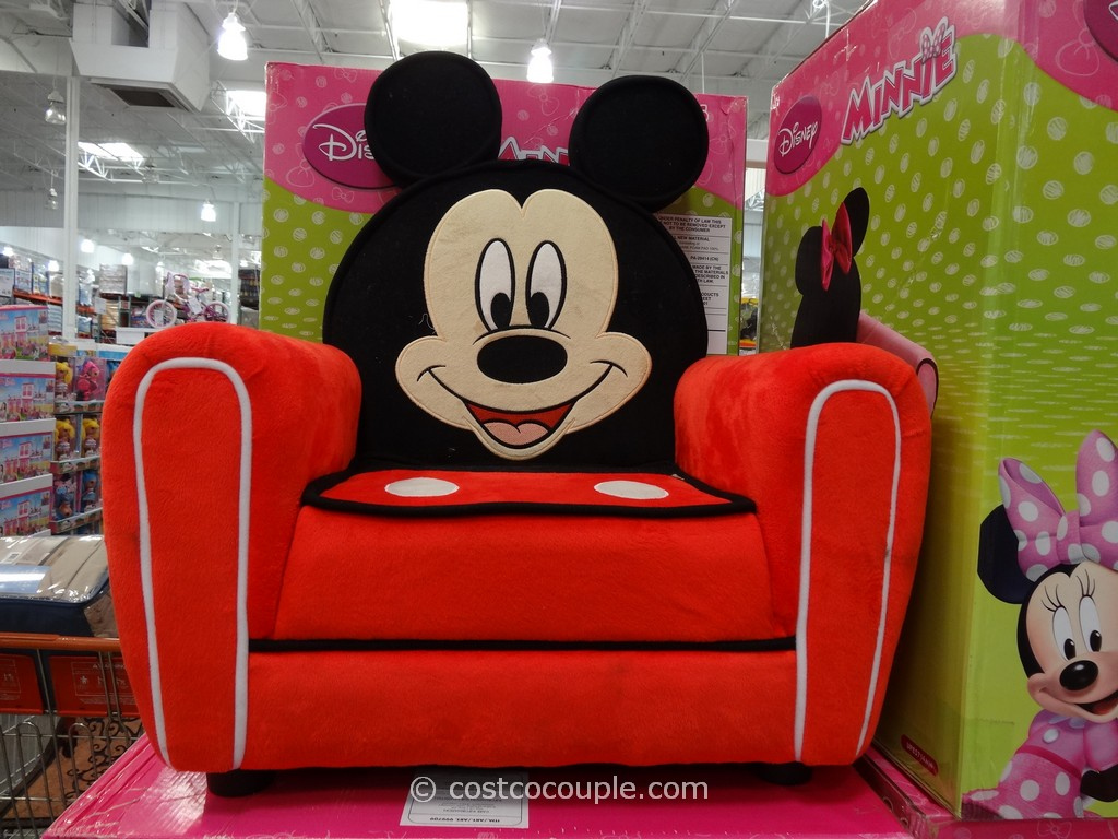 Disney Mickey or Minnie Upholstered Chair Costco 1