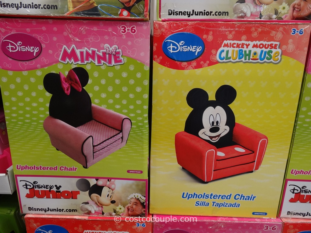 Disney Mickey Or Minnie Upholstered Chair