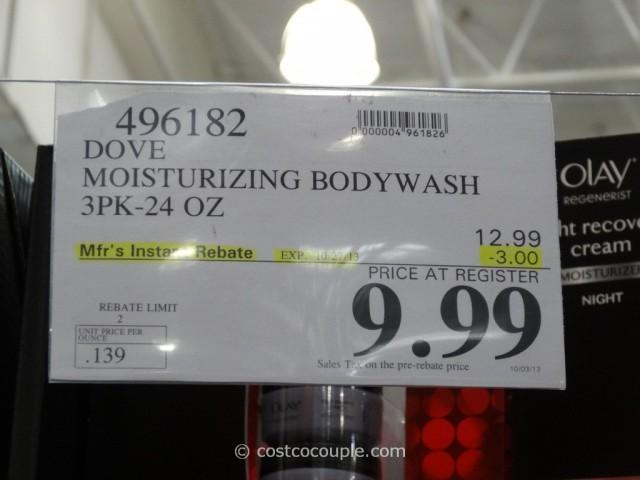 Dove Moisturizing Bodywash Costco 1