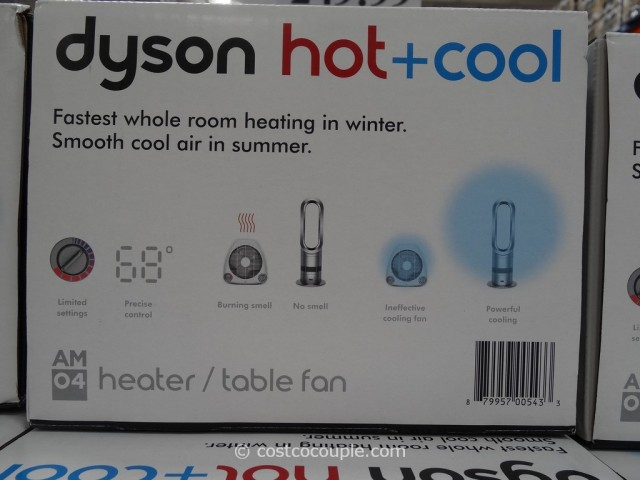 Dyson Hot and Cold Bladeless Heater Fan Costco 3