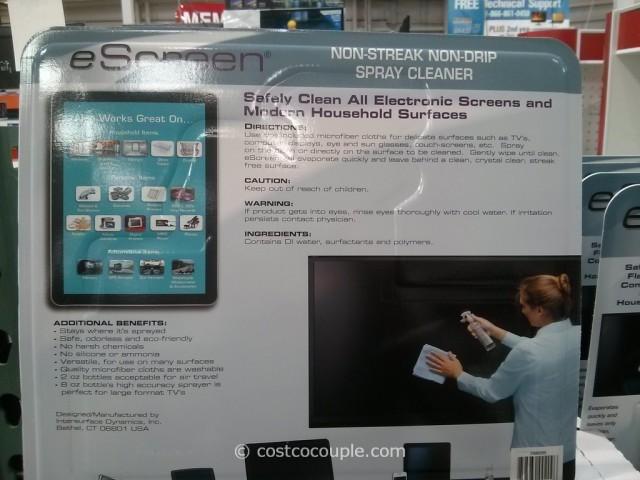 EScreen Electronics Spray Cleaner Costco 3