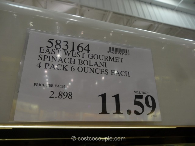 East West Gourmet Bolani Costco