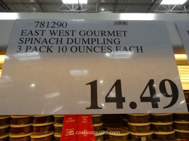 East West Gourmet Spinach Dumpling Costco 1