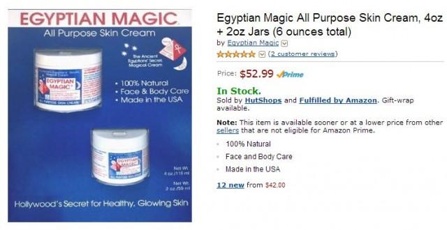 Egyptian Magic Amazon