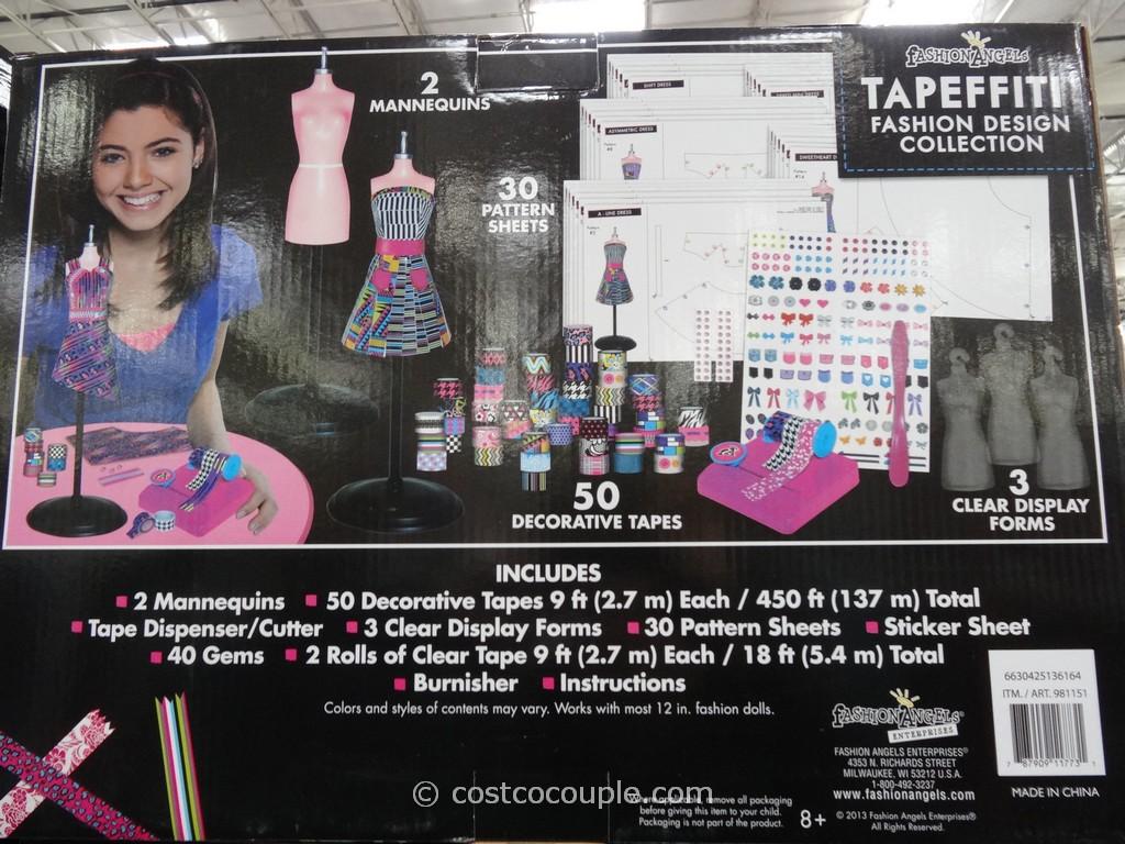 Fashion Angels Tapeffiti Fashion Design Collection