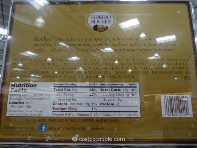 Ferrero Rocher Hazelnut Chocolates Costco 2