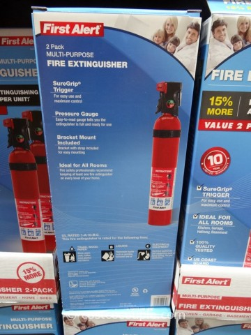 First Alert Fire Extinguisher 2 Pack