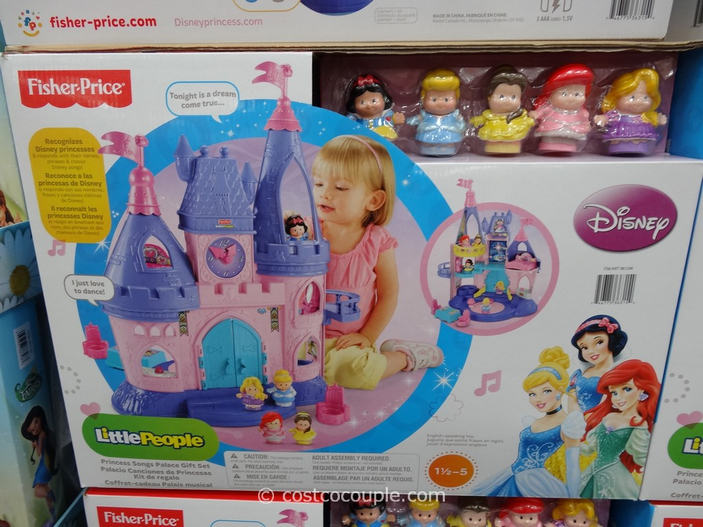 Fisher-Price Disney Princess Palace Costco 1