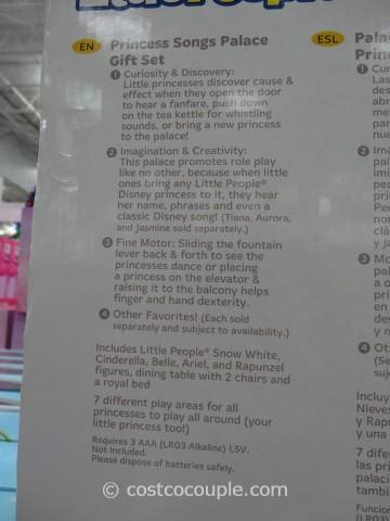 Fisher-Price Disney Princess Palace Costco 3