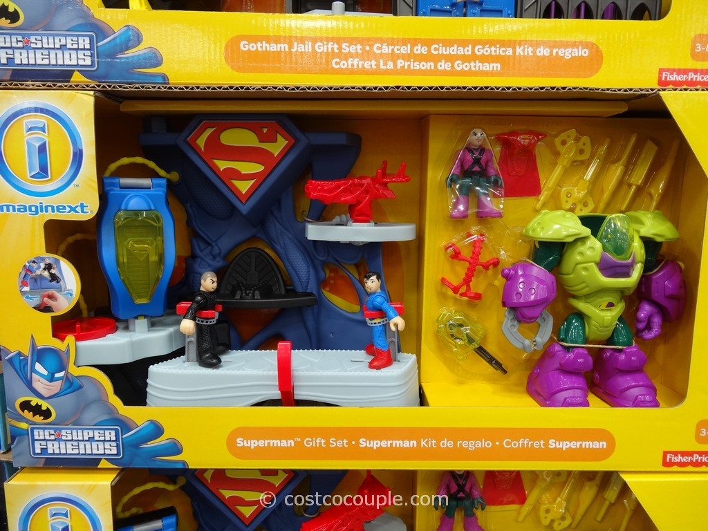 Fisher-Price Imaginext Batman Superman Costco 4