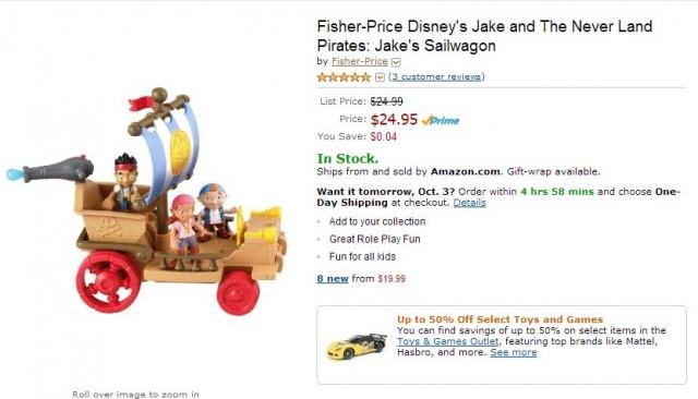 Fisher-Price Jake Sailwagon Amazon